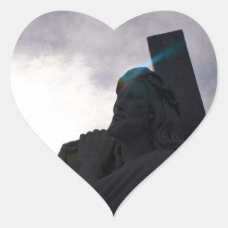 Aura of Jesus Heart Sticker