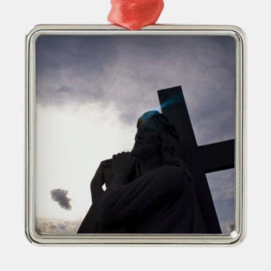 Aura of Jesus Metal Ornament
