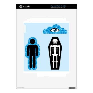 Aura Soul Human death Afterlife iPad 2 Skin