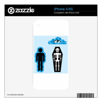 Aura Soul Human death Afterlife Skins For The iPhone 4