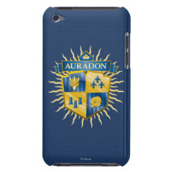 Case-Mate iPod Touch Barely There Case with Descendants Auradon Prep Crest design