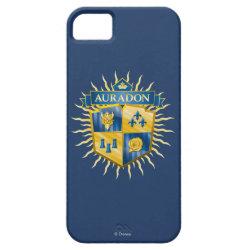 Case-Mate Vibe iPhone 5 Case with Descendants Auradon Prep Crest design