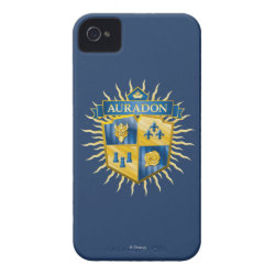 Case-Mate iPhone 4 Barely There Universal Case with Descendants Auradon Prep Crest design