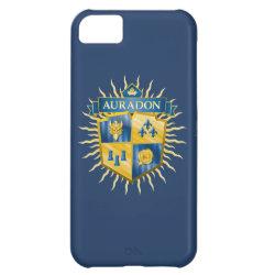 Case-Mate Barely There iPhone 5C Case with Descendants Auradon Prep Crest design