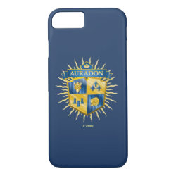 Case-Mate Barely There iPhone 7 Case with Descendants Auradon Prep Crest design