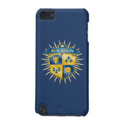 Case-Mate Barely There 5th Generation iPod Touch Case with Descendants Auradon Prep Crest design