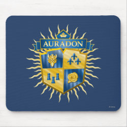 Descendants Auradon Prep Crest Mousepad