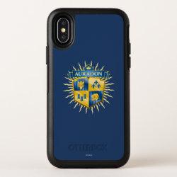 OtterBox Apple iPhone X Symmetry Case with Descendants Auradon Prep Crest design