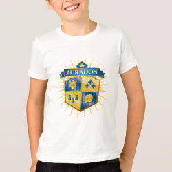 Kids' American Apparel Fine Jersey T-Shirt with Descendants Auradon Prep Crest design