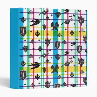 Auradon Icon Pattern 3 Ring Binder