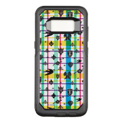 OtterBox Commuter Samsung Galaxy S8 Case with Descendants Auradon Prep Fancy Crest design