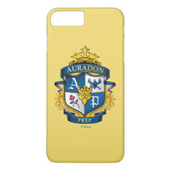 Case-Mate Tough iPhone 7 Plus Case with Descendants Auradon Prep Fancy Crest design