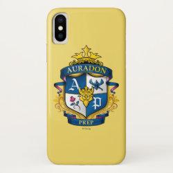 Case-Mate Barely There iPhone X Case with Descendants Auradon Prep Fancy Crest design