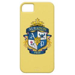 Case-Mate Vibe iPhone 5 Case with Descendants Auradon Prep Fancy Crest design