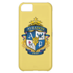 Case-Mate Barely There iPhone 5C Case with Descendants Auradon Prep Fancy Crest design