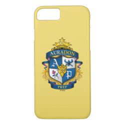 Case-Mate Barely There iPhone 7 Case with Descendants Auradon Prep Fancy Crest design