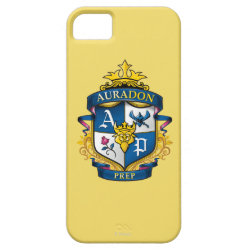 Case-Mate Vibe iPhone 5 Case with Descendants Auradon Prep Fancy Crest design