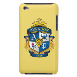 Case-Mate iPod Touch Barely There Case with Descendants Auradon Prep Fancy Crest design