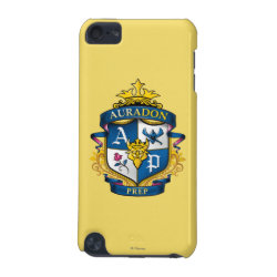 Case-Mate Barely There 5th Generation iPod Touch Case with Descendants Auradon Prep Fancy Crest design