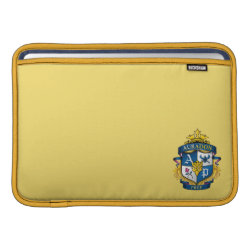 Macbook Air Sleeve with Descendants Auradon Prep Fancy Crest design