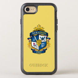 OtterBox Apple iPhone 7 Symmetry Case with Descendants Auradon Prep Fancy Crest design