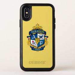 OtterBox Apple iPhone X Symmetry Case with Descendants Auradon Prep Fancy Crest design