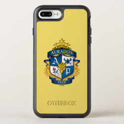 OtterBox Apple iPhone 7 Plus Symmetry Case with Descendants Auradon Prep Fancy Crest design