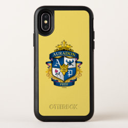 Auradon Prep Crest OtterBox Symmetry iPhone X Case