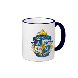 Auradon Prep Crest Ringer Mug