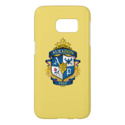 Case-Mate Barely There Samsung Galaxy S7 Case with Descendants Auradon Prep Fancy Crest design