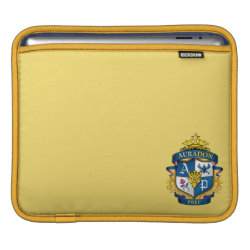 iPad Sleeve with Descendants Auradon Prep Fancy Crest design