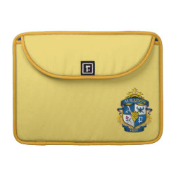 Macbook Pro 13' Flap Sleeve with Descendants Auradon Prep Fancy Crest design