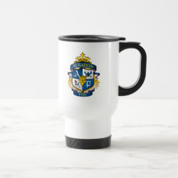 Travel / Commuter Mug with Descendants Auradon Prep Fancy Crest design