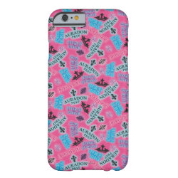 Case-Mate Barely There iPhone 6 Case with Descendants Auradon Prep Pink Pattern design