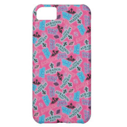 Case-Mate Barely There iPhone 5C Case with Descendants Auradon Prep Pink Pattern design