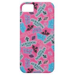 Case-Mate Vibe iPhone 5 Case with Descendants Auradon Prep Pink Pattern design