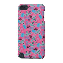 Case-Mate Barely There 5th Generation iPod Touch Case with Descendants Auradon Prep Pink Pattern design