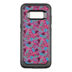 OtterBox Commuter Samsung Galaxy S8 Case with Descendants Auradon Prep Pink Pattern design