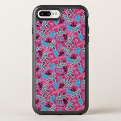 OtterBox Apple iPhone 7 Plus Symmetry Case with Descendants Auradon Prep Pink Pattern design