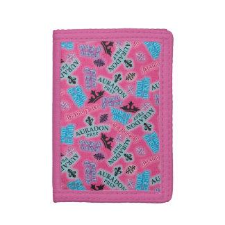 Auradon Prep Pattern Tri-fold Wallet