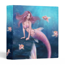 Aurelia Goldfish Mermaid Binder