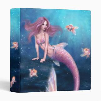 Aurelia Goldfish Mermaid Binder