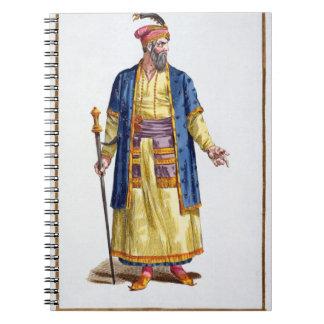Aurengzeb, Great Khan of the Mongol Hordes from Re Spiral Notebook