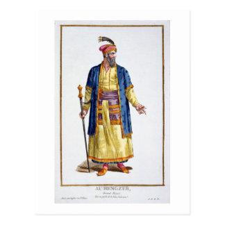 Aurengzeb, Great Khan of the Mongol Hordes from Re Postcard