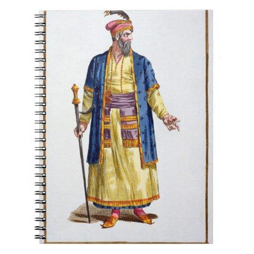 Aurengzeb, Great Khan of the Mongol Hordes from Re Spiral Notebooks