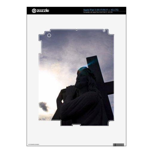 Aureola de Jesús iPad 3 Pegatinas Skins