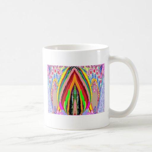 Aureola visual de la energía positiva - herramient taza de café