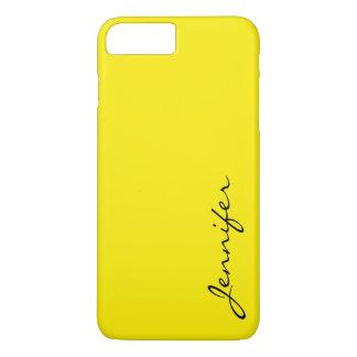 Aureolin color background iPhone 7 plus case