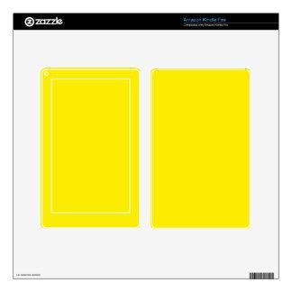 AUREOLIN (the color aka Cobalt Yellow) ~~~~~~~~~~~ Kindle Fire Decal