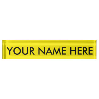 AUREOLIN (the color aka Cobalt Yellow) ~~~~~~~~~~~ Name Plate